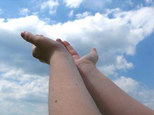 O passo de fé começa com a alimentação – por Juliana C. Oliveira