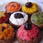 Cupcakes sem açúcar, sem glúten, sem lactose