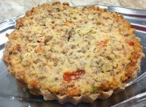 Quiche de Amendoa