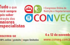 CONVEG – 1º Congresso Online de Nutrição e Vegetarianismo