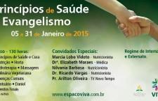 Jacareí – SP | 5 – 31 de janeiro de 2015 – Curso de Princípios de Saúde e Evangelismo