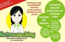 Nutrocoaching: atendimento online com nutróloga