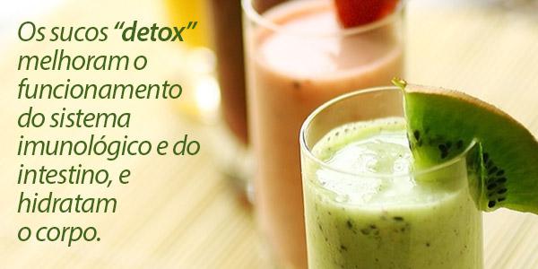 Aprenda a fazer seu suco detox